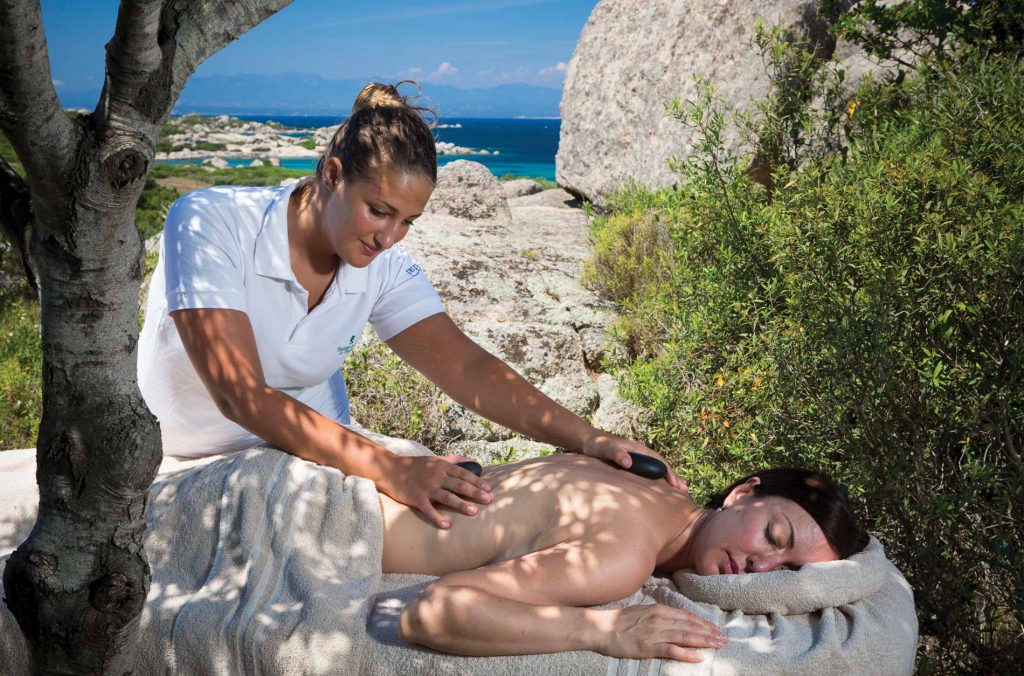 Valle dell'Erica massaggio open air