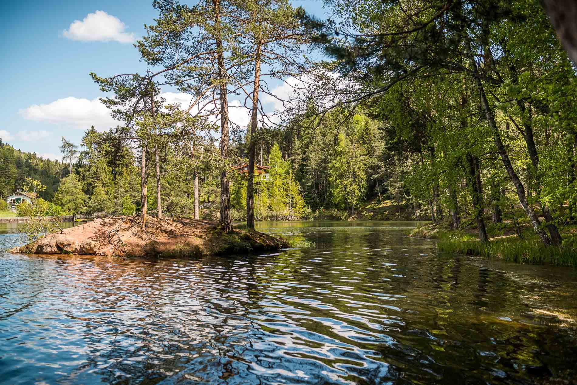 Lago di Costalovara - Renon - Foto di Achim Meurer