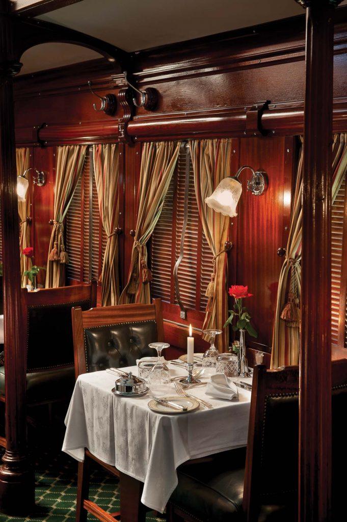 Rovos Rail ristorante