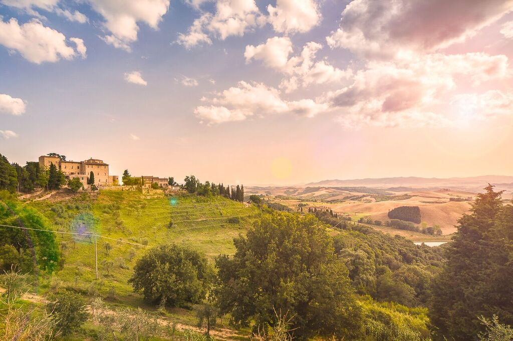 Borgo Castelfalfi - scenario idilliaco