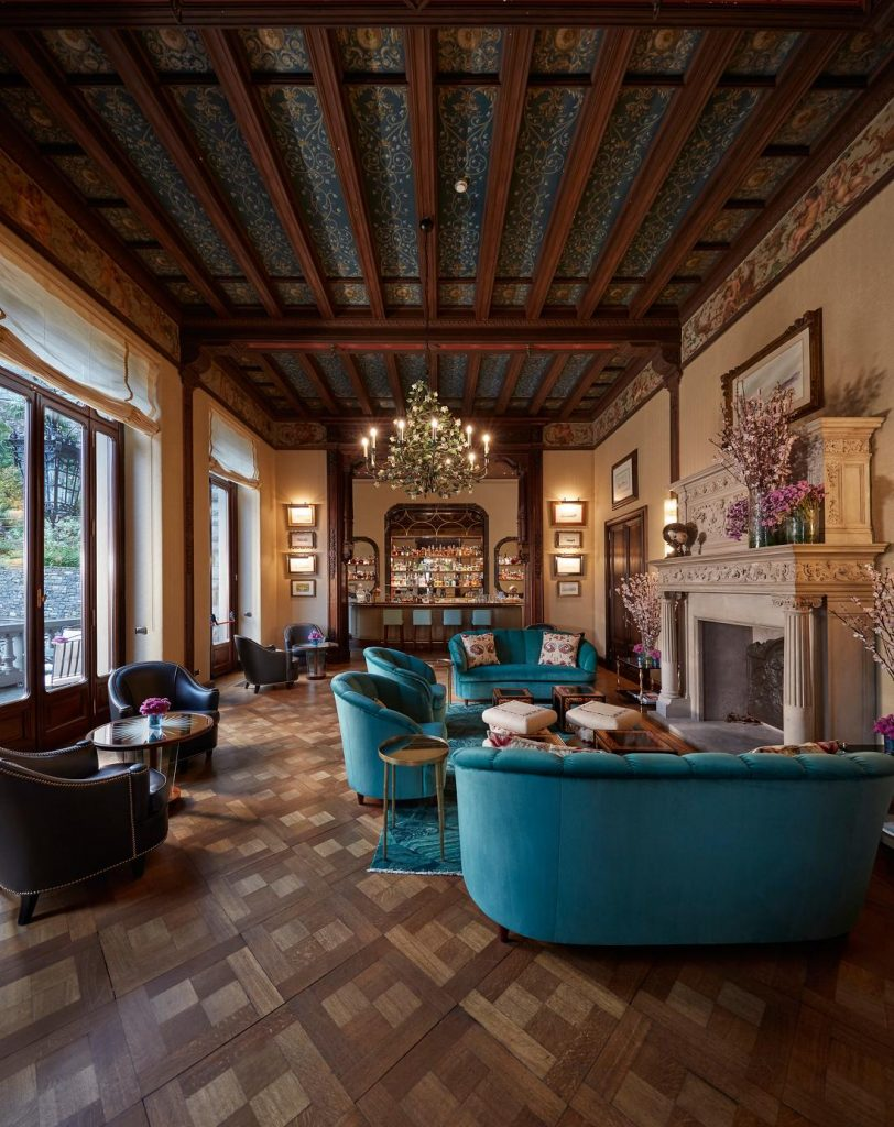 Mandarin Oriental Lago di Como, la sala del CO.MO. Bar