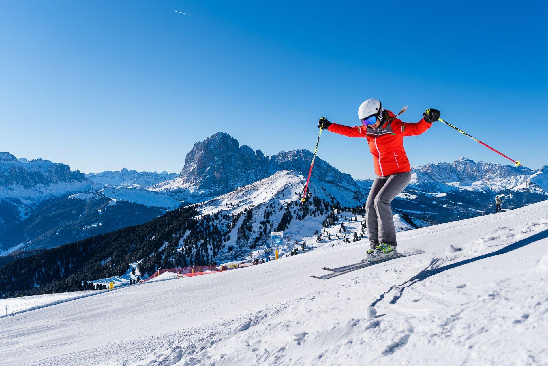 Val Gardena inverno sci