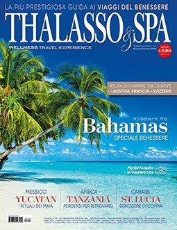 THALASSO & SPA rivista di viaggi del benessere - copertina numero 3 INVERNO 2019