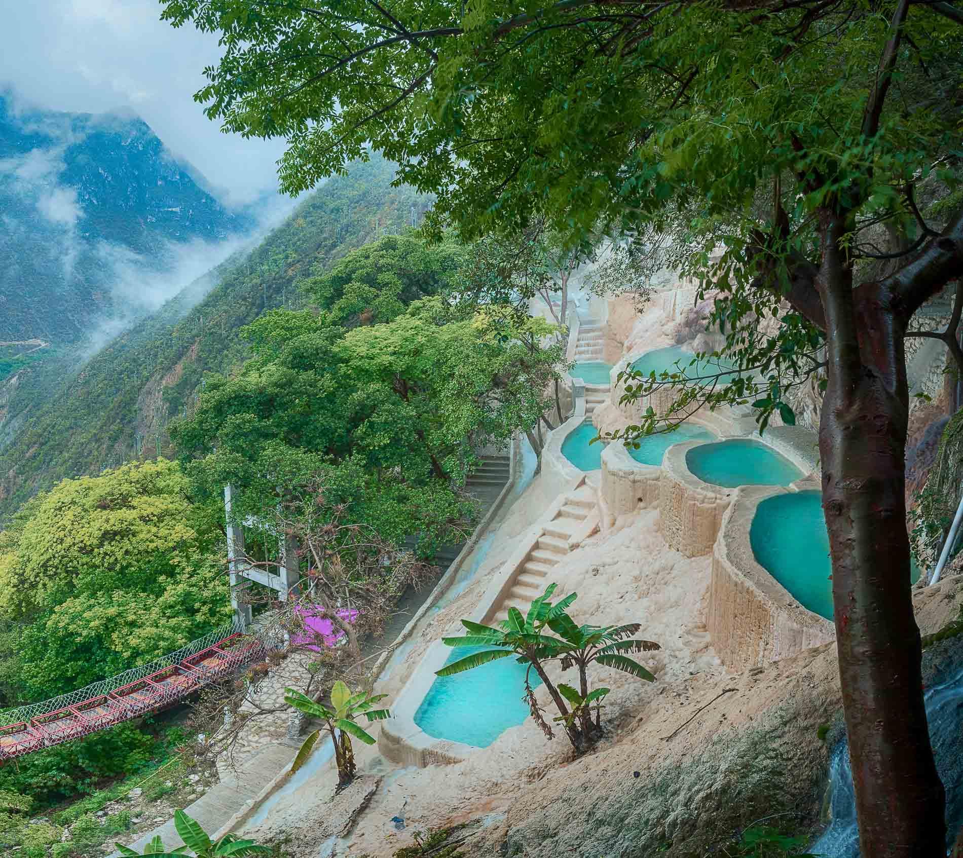 El Parayso, Tolantongo - Messico - piscine termali naturali