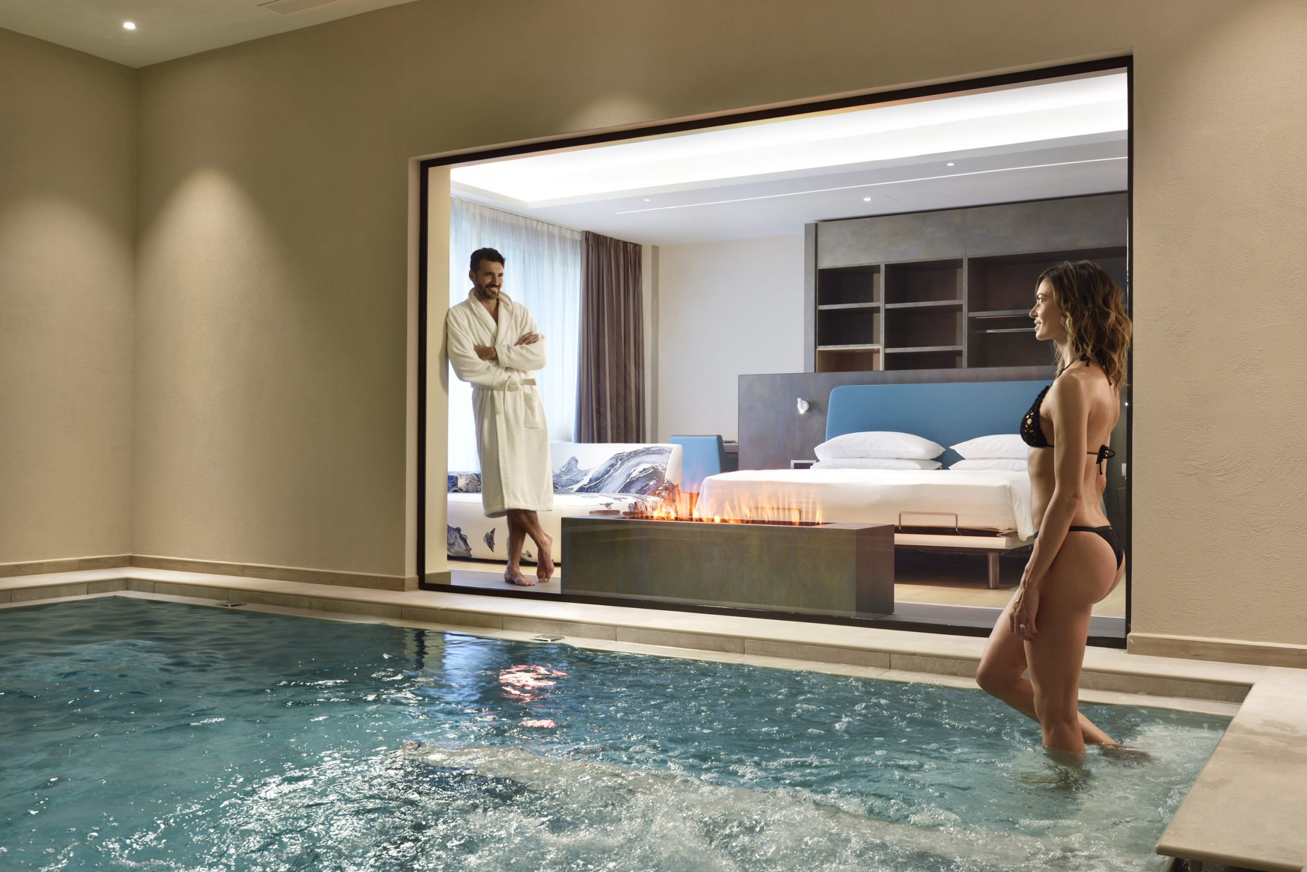 Borgobrufa SPA resort suite