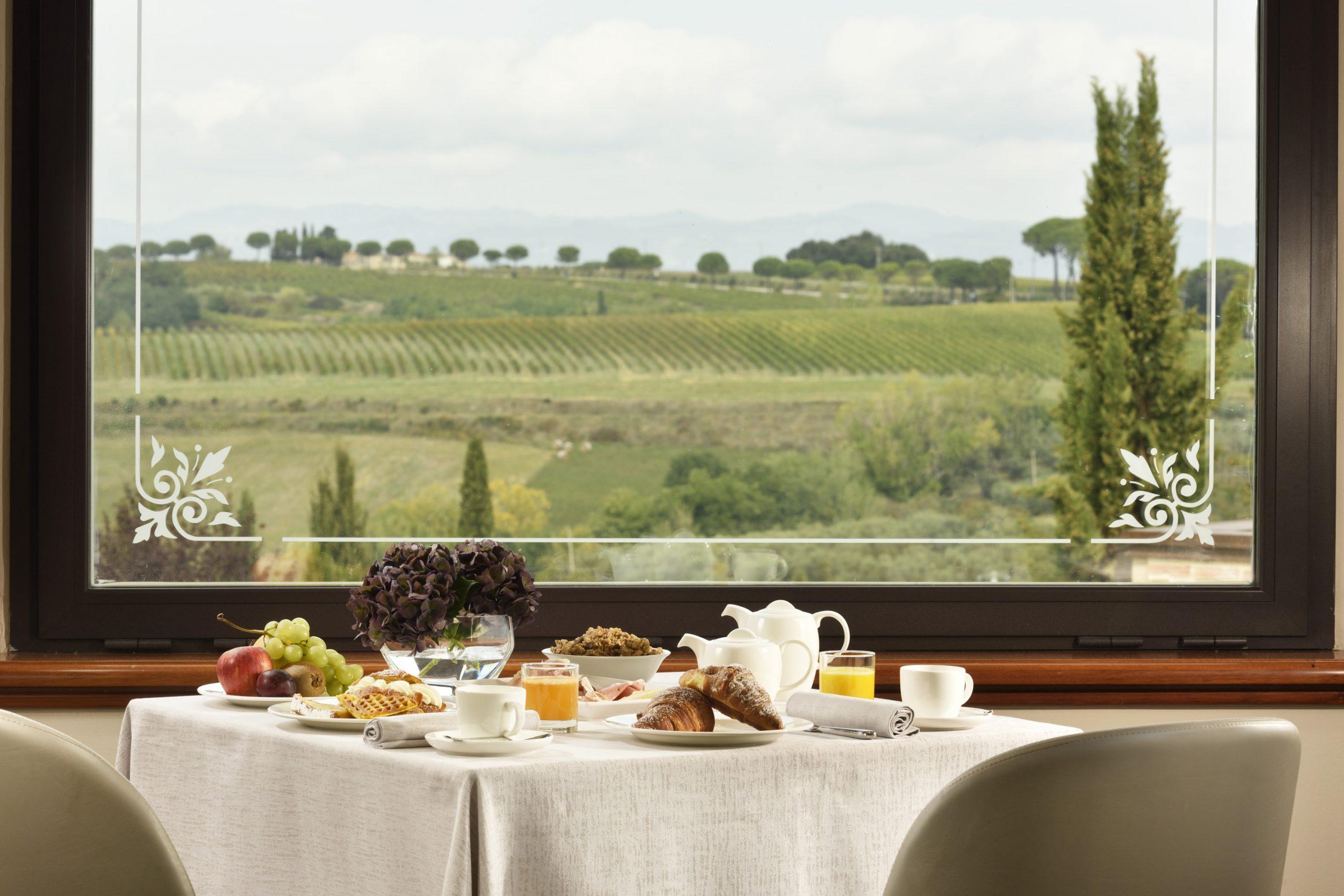 Borgobrufa SPA resort colazione