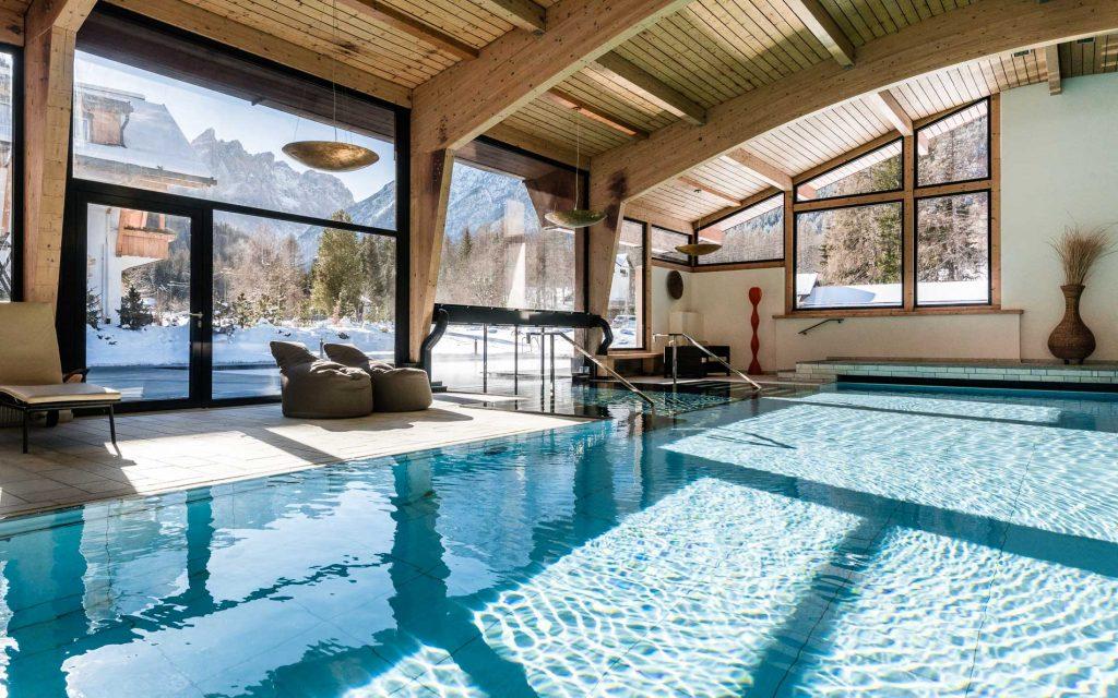 Bad Moos Dolomites SPA Resort - La piscina