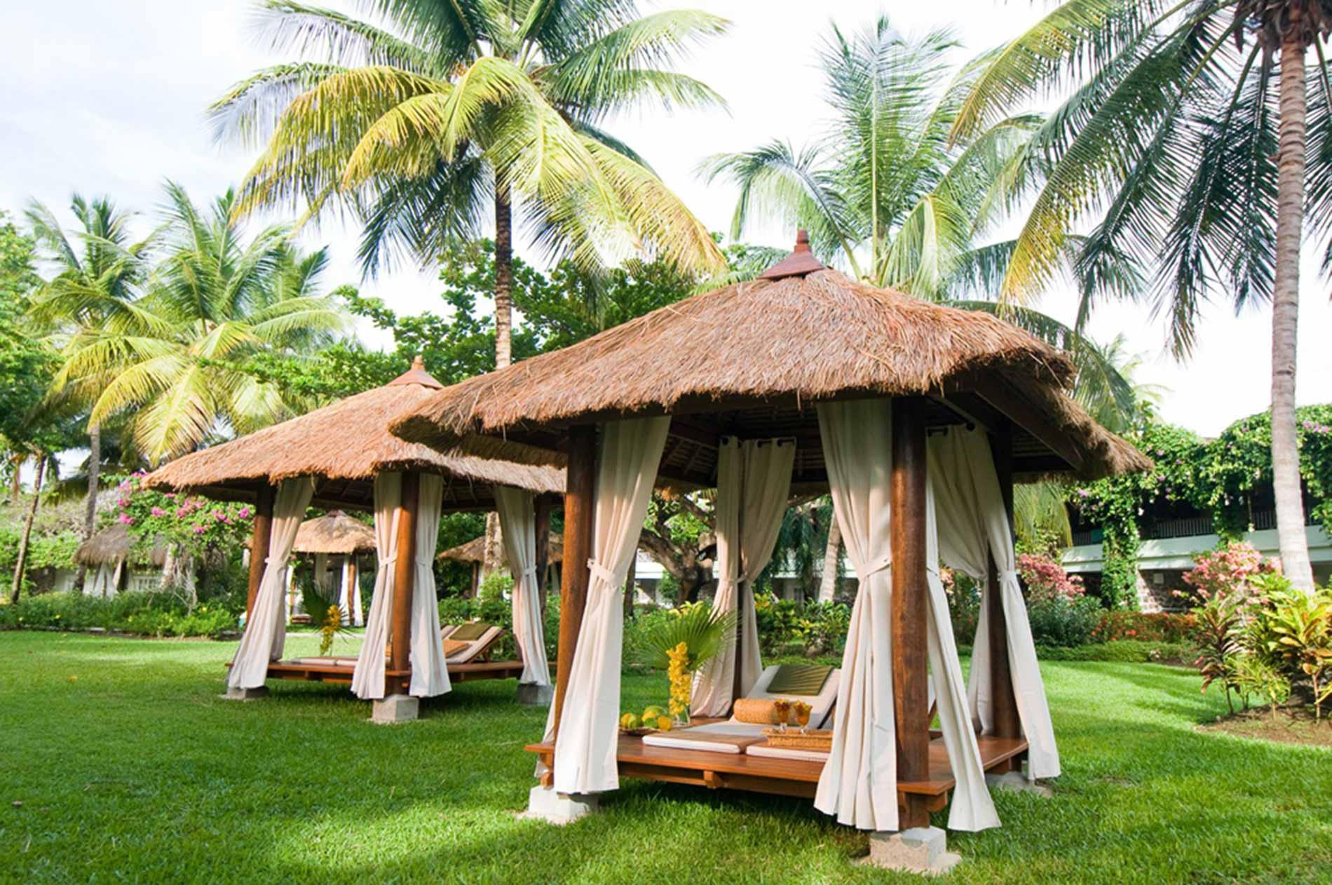 Sandals Saint Lucia, benessere per due  Uno dei bungalow per i trattamenti nei Sandals Saint Lucia