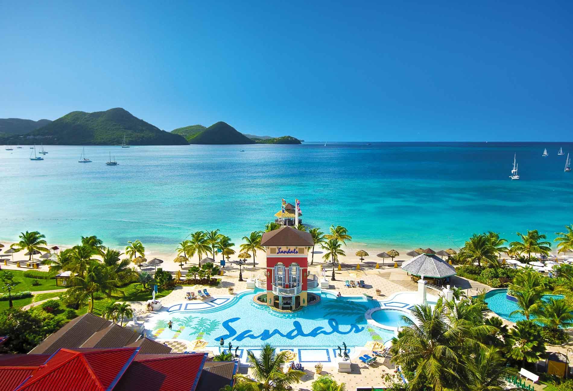 Sandals Grande St. Lucian - isola di Saint Lucia, Caraibi