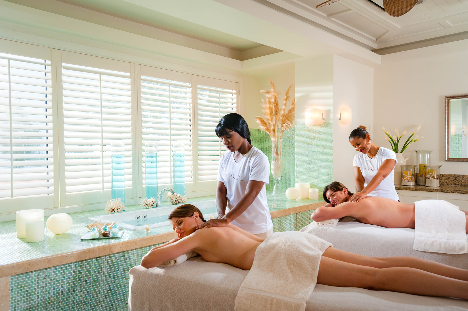 Massaggi di coppia nei Sandals Resort di Saint Lucia