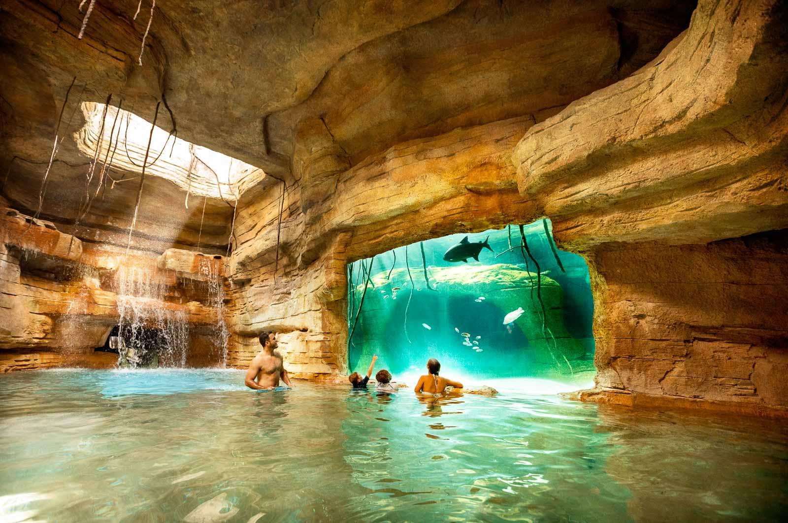Cenote Atlantis Hotel Nassau Bahamas