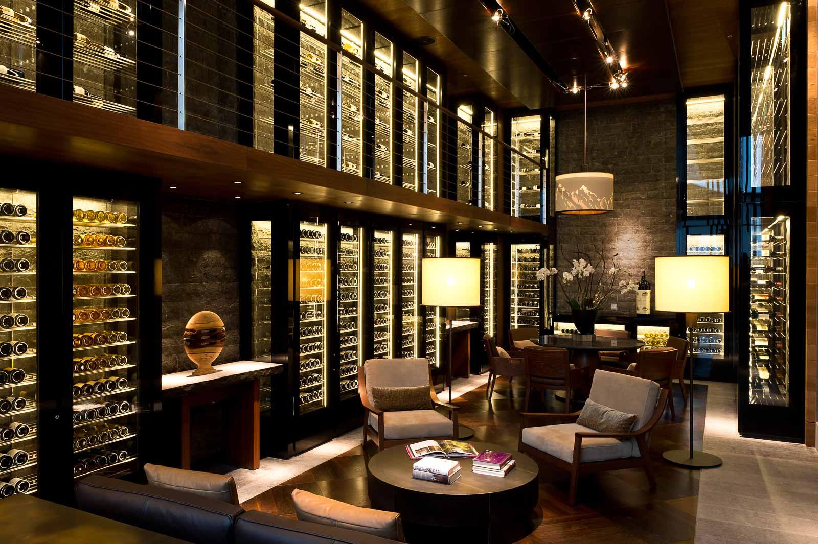 Wine Cigar Library, The Chedi Andermatt
