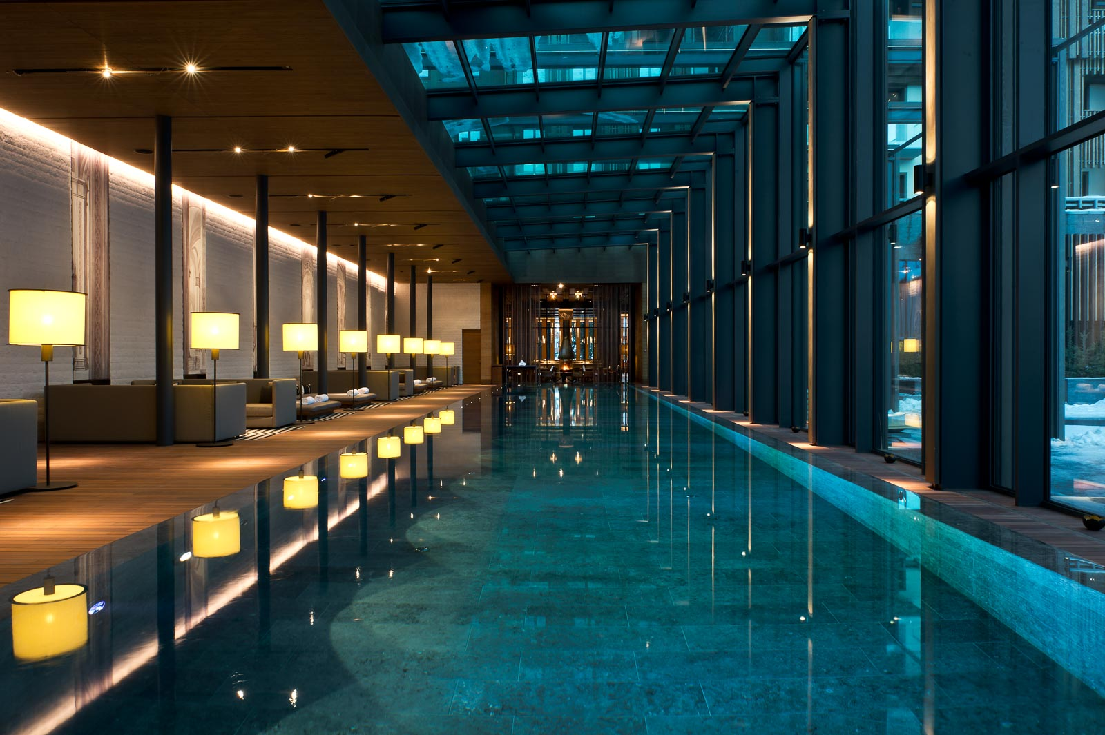 The Chedi Pool Indoor