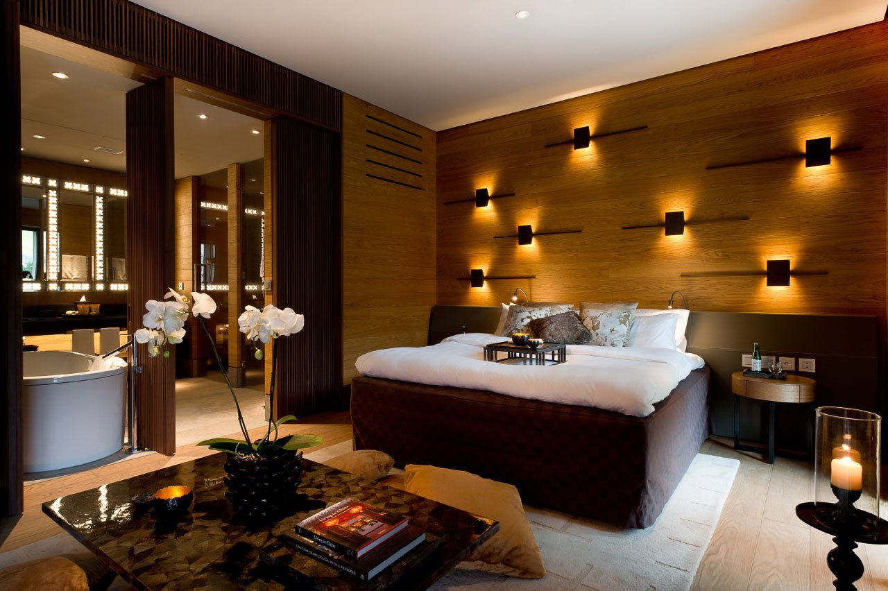 Deluxe Room The Chedi Andermatt