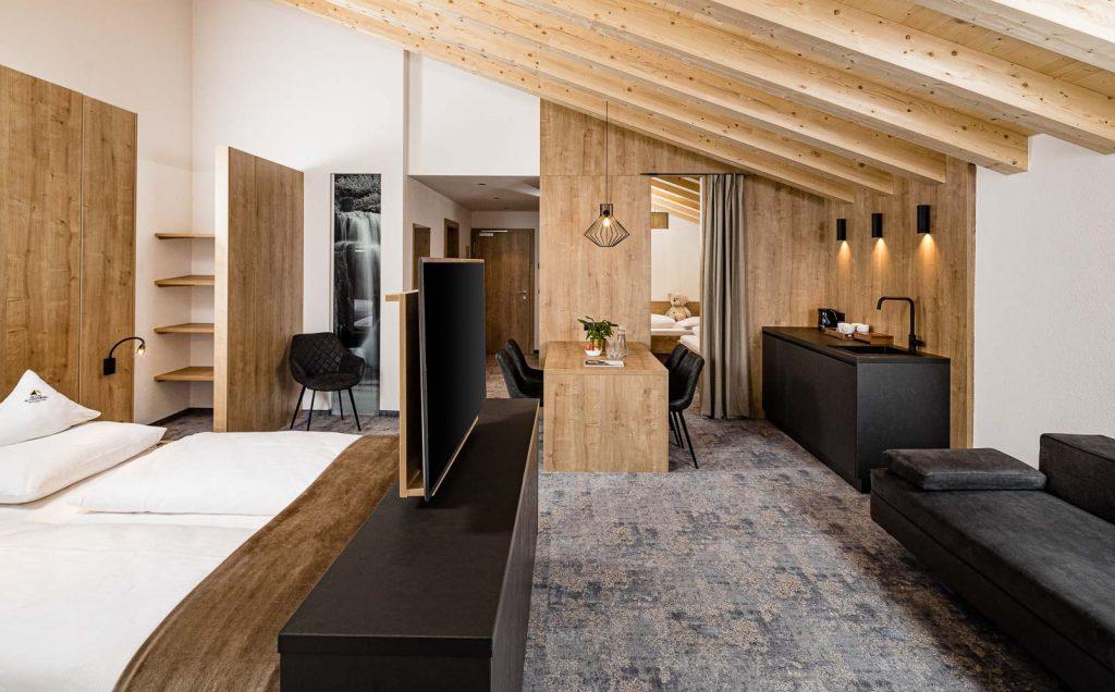 SCHNEEBERG HOTEL Family Suite
