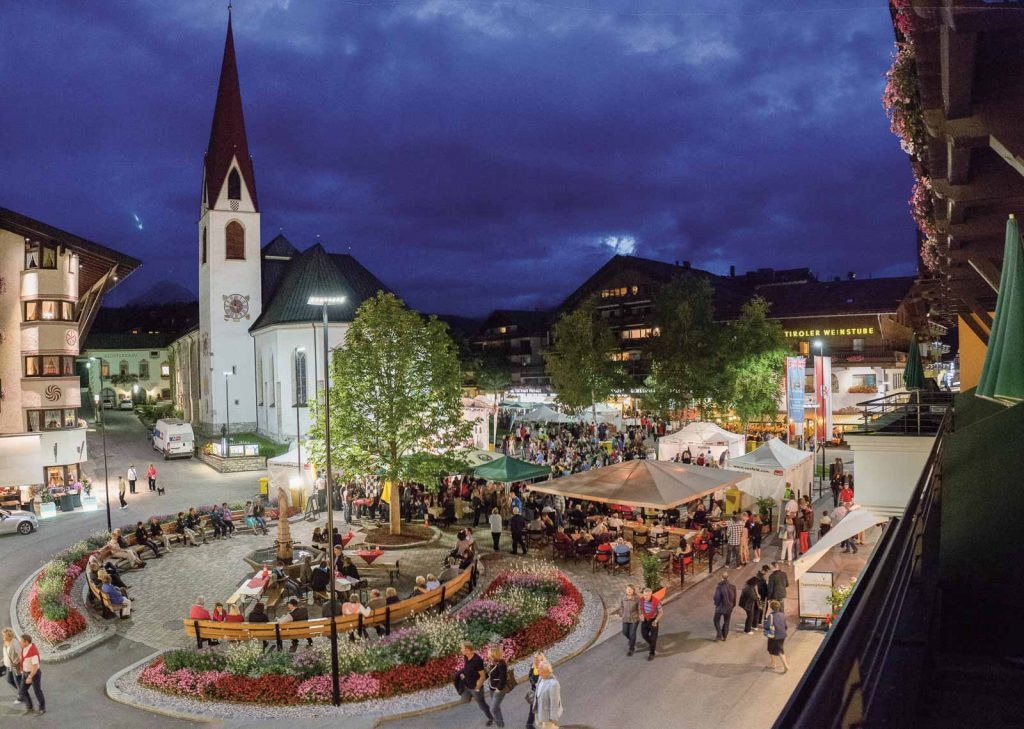 Seefeld Dorfplatz