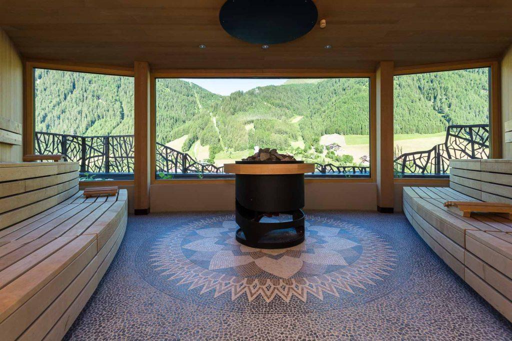 Silena sauna panoramica